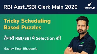 RBI Assistant/SBI Clerk Main 2020: Learn to Crack Scheduling Based Puzzles