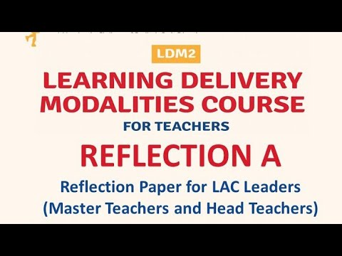 Download LDM2 REFLECTION-A FOR LAC LEADERS ( MT & HT )