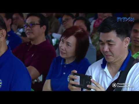 Inauguration of the Bahay Pag-asa Phase 2 (Speech) 2/28/2018