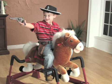 Animated Spring Rocking Horse