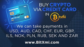 How to Buy Cryptocurrency with a Credit Card on BitXmi?