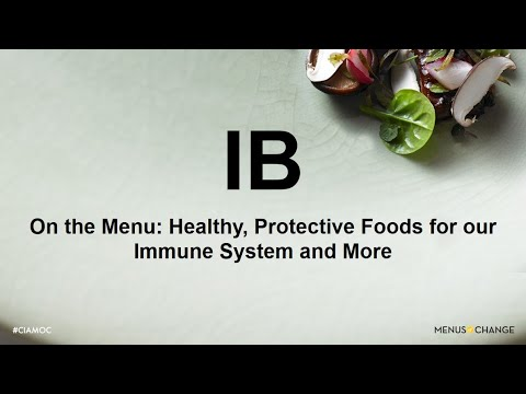 2020 Menus of Change: Healthy, Protective Foods for our Immune System
