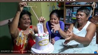 Best Surprise Birthday Cake EVER, the Money Cake