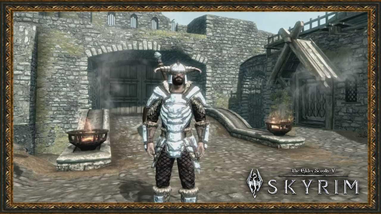 Skyrim диадемы тяжелая броня
