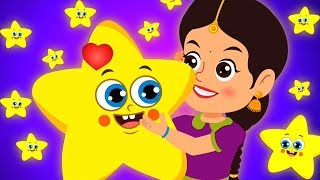 Twinkle Twinkle Little Star | ट्विंकल ट्विंकल लिटिल स्टार | Hindi Rhymes for Children