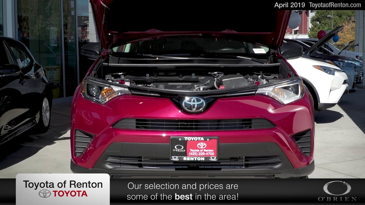 Toyota Of Renton >> 2019 Toyota Camry Le At Offer Toyota Of Renton April Sp 2