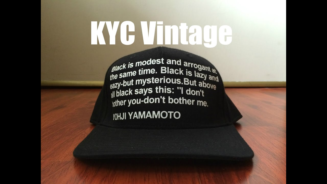 KYC Vintage Snapbacks   Bucket Hats review. - YouTube f609824a37e