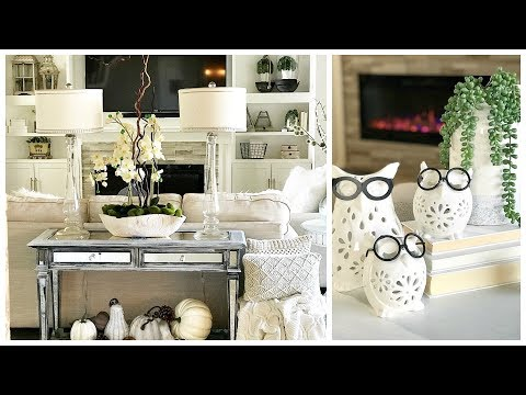 NEW! FALL Decor | How To Decorate A Console/Side Table For Fall & EXCITING NEWS!