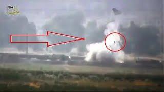 Сирийцы засняли на видео гибель российских солдат в Сирии.