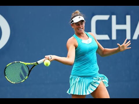 2017 US Open: Jennifer Brady match point - YouTube