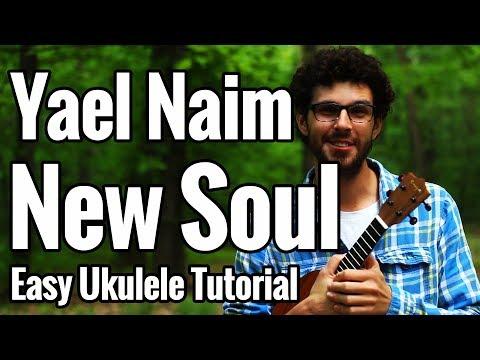 Yael Naim - New Soul - Ukulele Tutorial - Chords, Strumming, Play Along