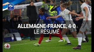 Equipe de France Féminine, amical: Allemagne-France (4-0), le résumé I FFF 2017
