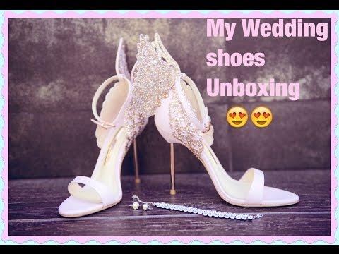 My Wedding Shoes Unboxing | Sophia Webster
