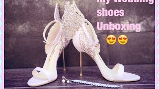 My Wedding Shoes Unboxing | Sophia Webster