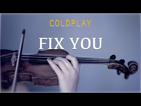 Coldplay - Fix You For Violin And Piano (COVER)