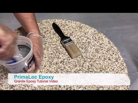 Granite Epoxy Tutorial Video
