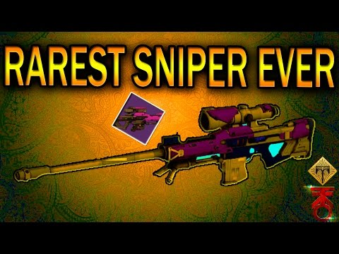BEST SNIPER IN DESTINY! THE SUPREMACY SNIPER RIFLE! AMAZING PERKS! GAME PLAY! 2 OF THEM!