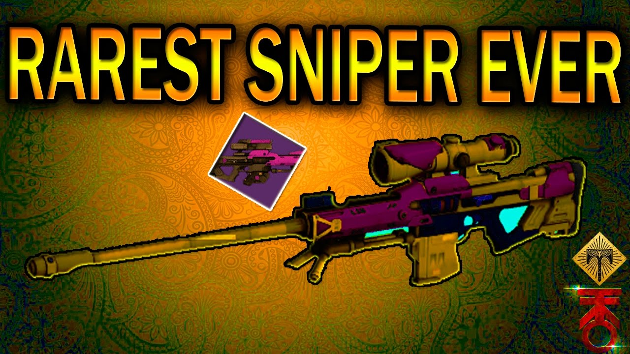 BEST SNIPER IN DESTINY! THE SUPREMACY SNIPER RIFLE! AMAZING PERKS! GAME  PLAY! 2 OF THEM! - YouTube