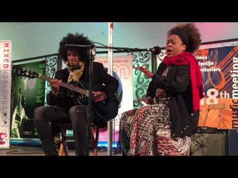 Monika Njava & Joël Rabesolo - Music Meeting 2016 - fragment mini-concert in Mixed Media Lounge