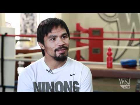 "Manny Pacquiao Sings ""Imagine"" With WSJ Reporter - WSJ Interview Sneak Peak"
