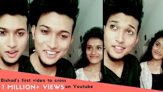 Rishad with his friends Dubsmash Musically Videos