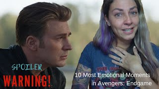 10 Most Emotional Moments in Avengers: Endgame (MASSIVE SPOILERS)