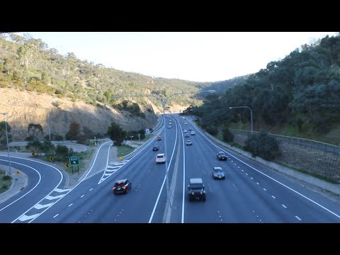 Adelaide to Tailem Bend via 'South Eastern Freeway'