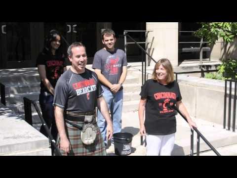 ALS Ice Bucket Challenge - UC James L. Winkle College of Pharmacy