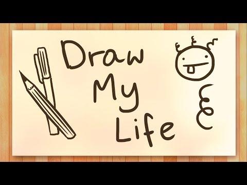 100K SUBÓW!!! - DRAW MY LIFE