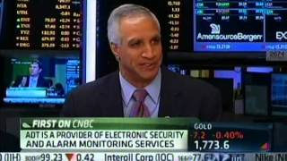 ADT CEO on FIRST ON CNBC --   ADT Stock Market Debut