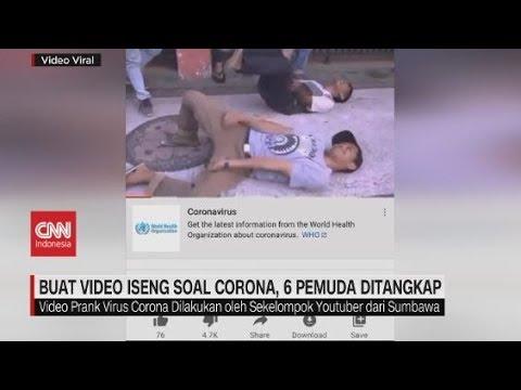 Buat Video 'Prank' Soal Corona, 6 Pemuda Ditangkap