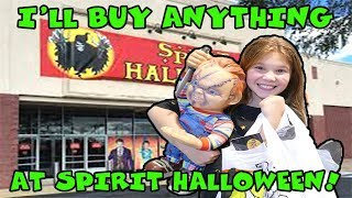 I'll Buy ANYTHING That Starts With A Letter In Your Name At Spirit Halloween!