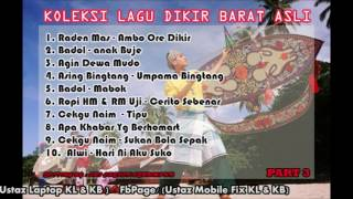 Video Koleksi Lagu Dikir Barat Asli (part 3) download MP3, 3GP, MP4, WEBM, AVI, FLV Oktober 2018