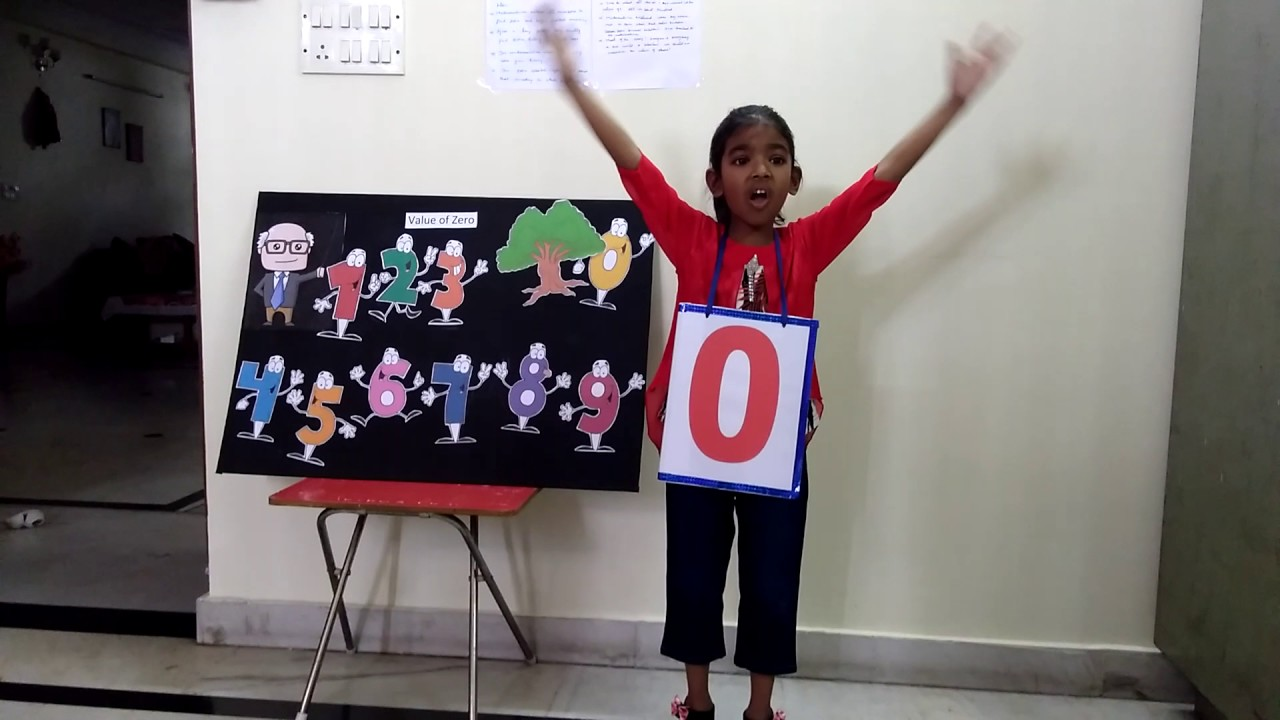 Value of zero - story telling competition - YouTube