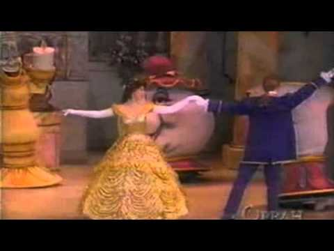 Celine Dion  Beauty and The Beast Duet with Peabo Bryson  Oprah in Disneyland 1996