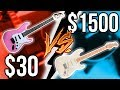 Download Cheapest Guitar Ever vs. Expensive American Fender!!    Guitar Shootout MP3 song and Music Video