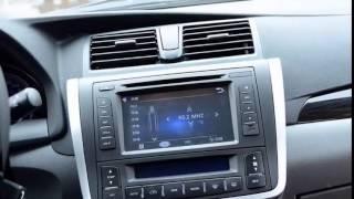 Впервые!  Zotye Z300. новый седан_ копия Toyota Allion.  Необычный Автомобиль!