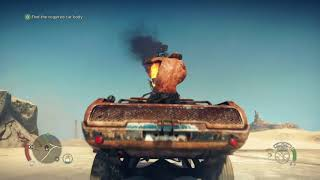 Mad Max gameplay ps4