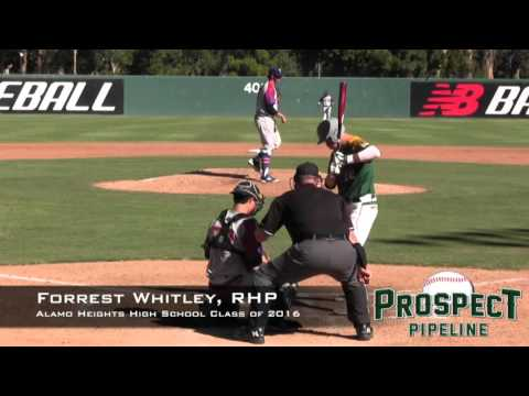 Forrest Whitley Prospect Video, RHP, Alamo Heights High SChool Class of 2016