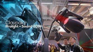 Clay Paky Xtylos oraz Axcor - premiery - (Prolight+Sound 2019)
