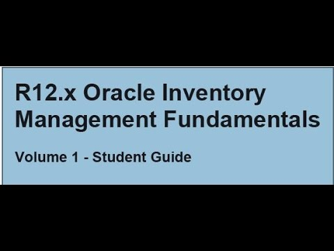 Oracle Inventory Part 18 (Lot Expiration Date & Serial Control)