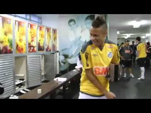 """Neymar bailando """"ai se eu te pego"""" Version Extendida Original [HD]"""