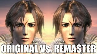 Final Fantasy 8 Remastered Vs Original Graphics Comparison, Frame Rate Test and More