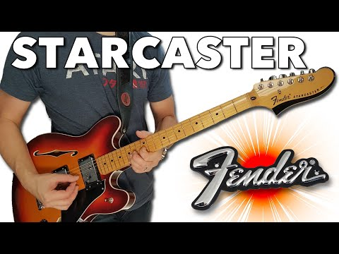 A Super Star! - The Fender Modern Player Starcaster In Aged Cherry Burst