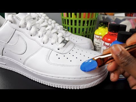 How To Customize Shoes! 🎨👟(SIMPLE)   Xavier Kickz