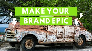 EPIC Car Restoration Video!  Branded Content!