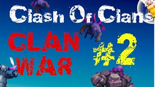 "CLASH OF CLANS CLAN WAR "" Ci tristellano male "" #2"