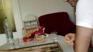 TURGAY VE OLCAY  Backgammon   Professor vs. Powerlocke