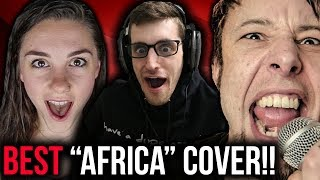 Hip-Hop Head Reacts to Toto - Africa (metal cover by Leo Moracchioli feat. Rabea & Hannah)