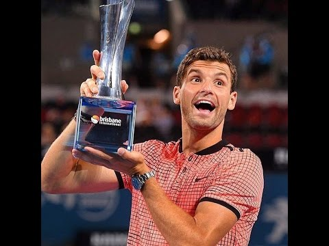 Grigor Dimitrov vs. Kei Nishikori 6-2, 2-6, 6-3 Brisbane International (F) 08.01.2017. (RUS Audio)